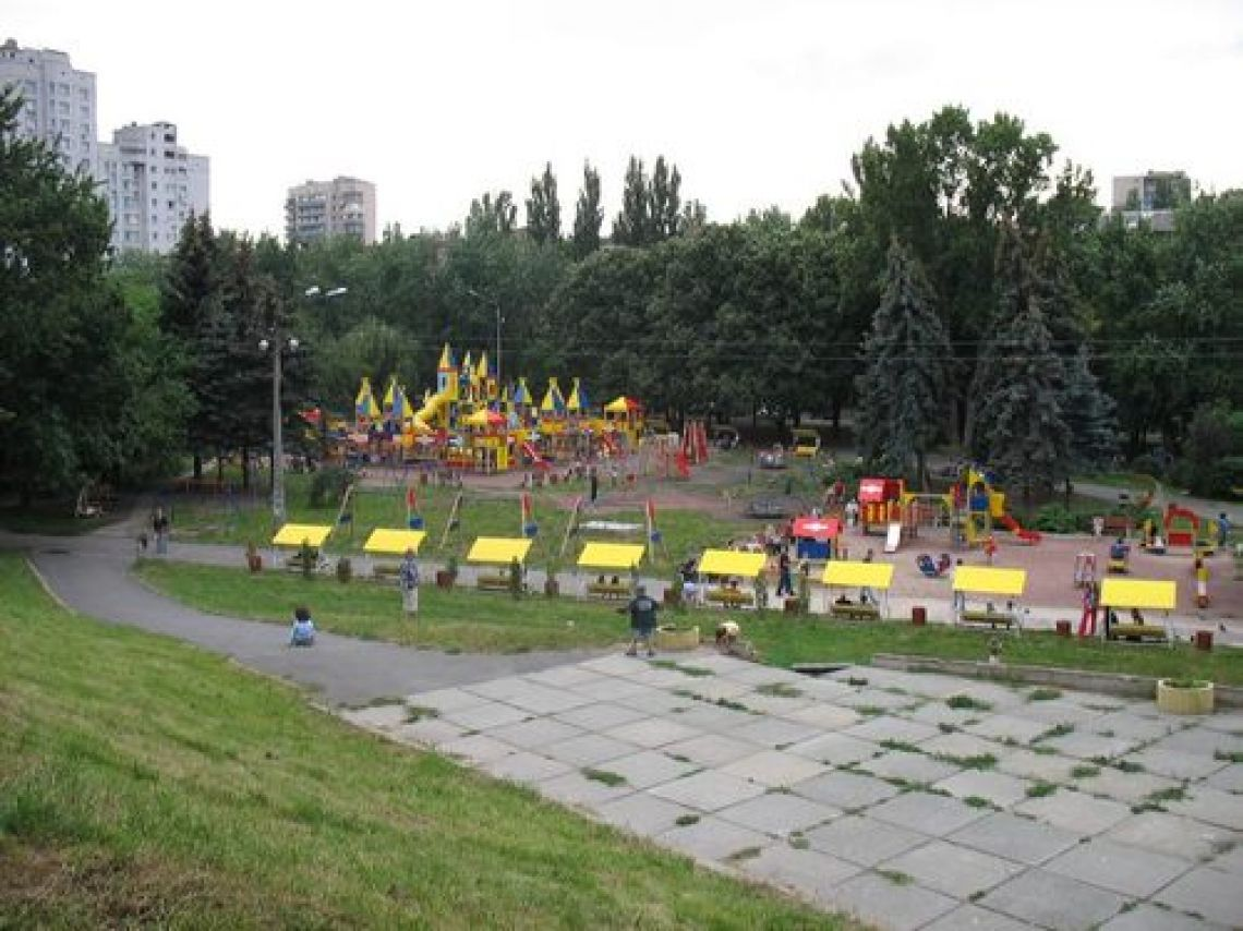 Парк Первомайский (Юность), Соломенский р-н, Киев